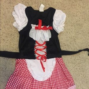 Dresses & Skirts - Red riding hood/German girl costume